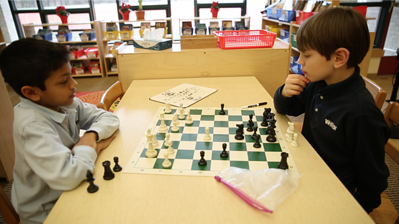 Whitby Students at Chess Camp