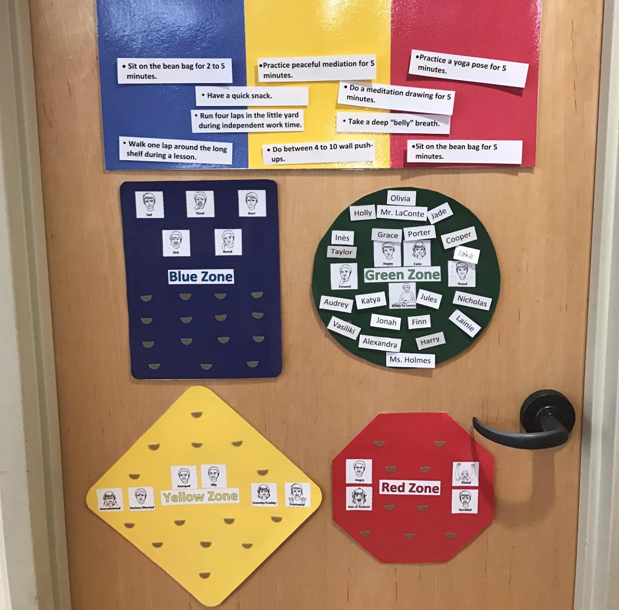 Teaching Self Control in Lower Elementary with Zones of Regulation